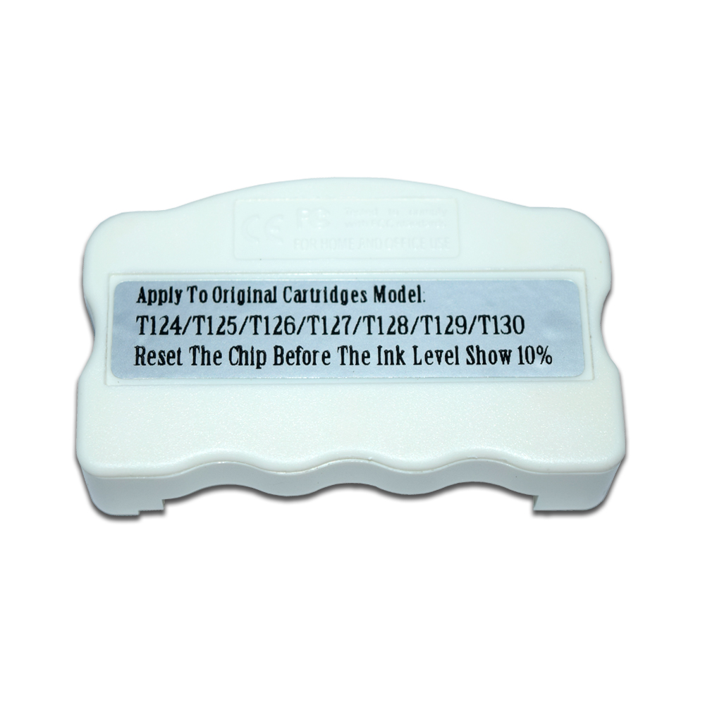 Universal Original Cartridge Chip Resetter For Epson T124 T125 T126 T127 T128 T129 T130 Chip Reset