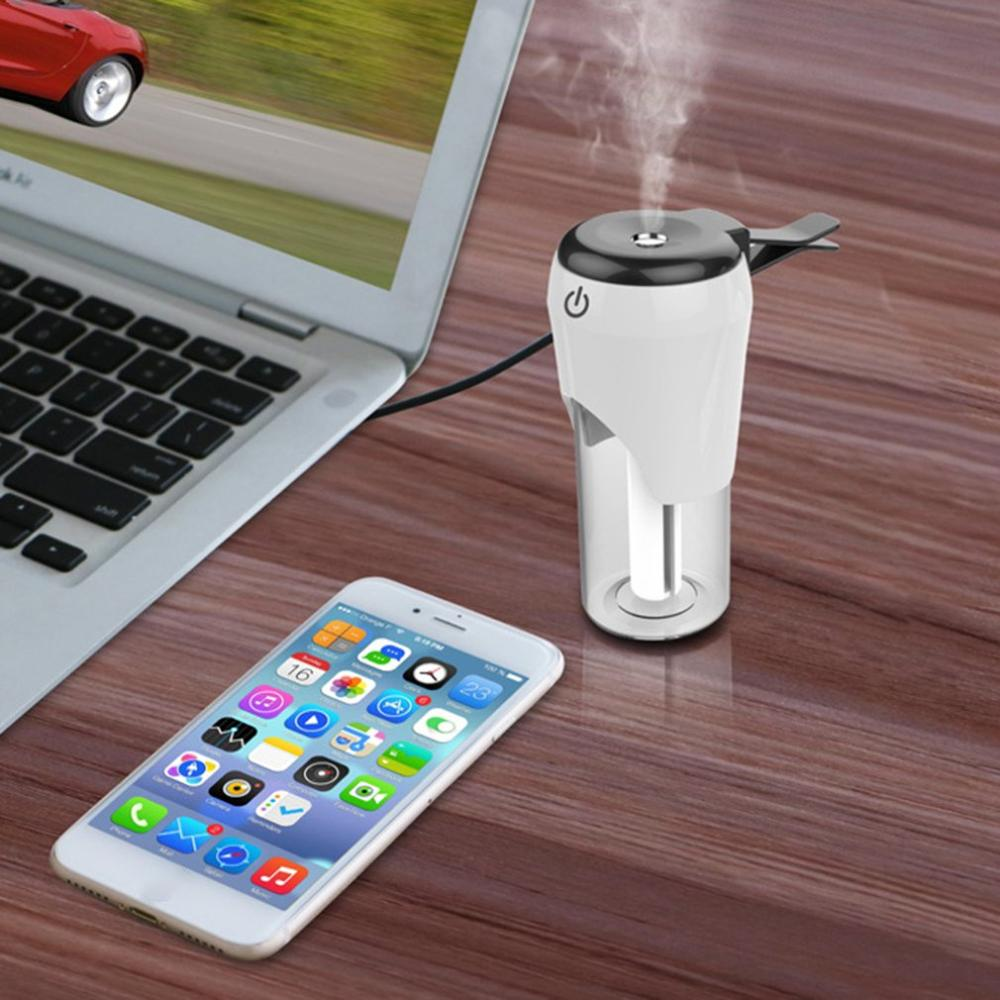 Car Humidifier Air Purifier Fresher Mini Portable Usb Car Aromatherapy Humidifier Usb Air Diffuser Purifier