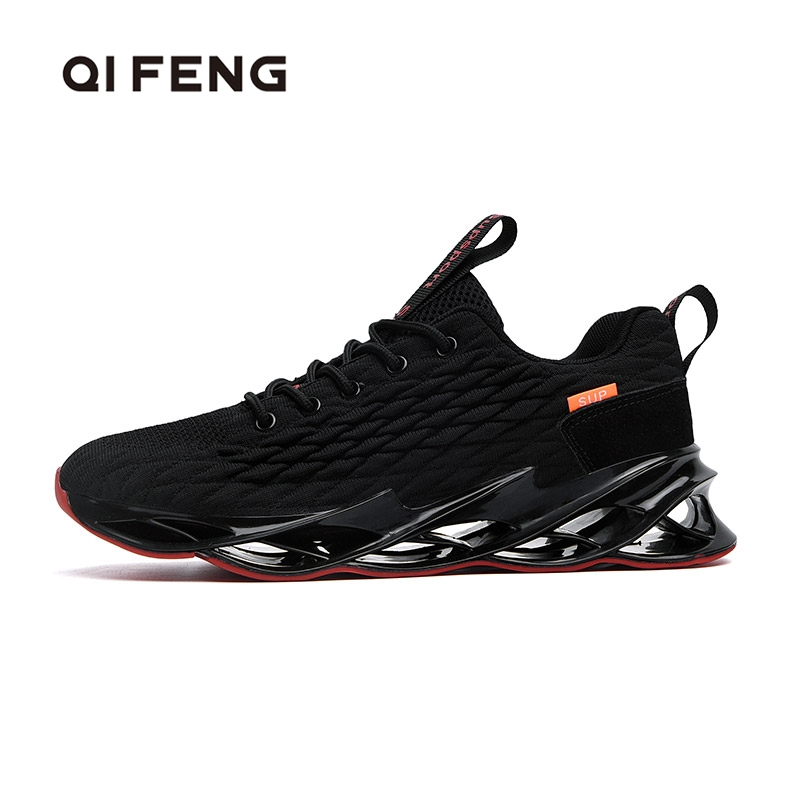 46 Mens Running Shoes 2020 Spring New Male Sneaker Soft Mesh Footwear Breatheable Fashion Black Shoes Sport Footwear Winter Men
