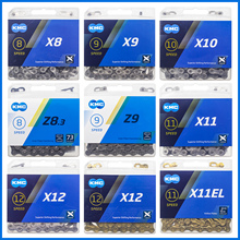 KMC Bike Chain X8 X9 X10 X11 X12 Bicycle Chain 8/9/10/11/12 Speed Road MTB Crankset SRAM 8 9 10 11 12s Derailleur 116L genuine kmc x8 x9 x10 x11 mtb bike chain 8 9 10 11 speed bicycle chain 116 links steel road bike chain with missing link