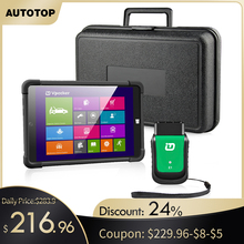 2020 Vpecker Easydiag OBD2 Autoscanner V12.0 WIFI רכב סורק + 8 ב Windows 10 Tablet ODB 2 OBD רכב אבחון סורק