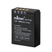 NP Mamen W126 NP-W126 NP-W126S W126S Digital Bateria para FUJI Fujifilm NP NP W126 E1 E2 E2S 100F M1 A1 A2 A3 A10 T1 T2 T10 T20