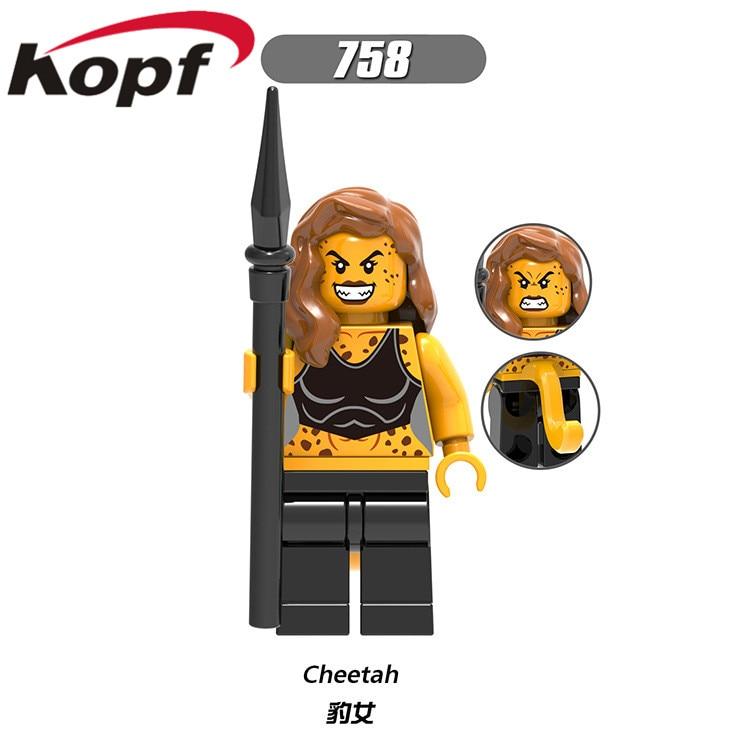 20Pcs X0178 Building Blocks Super Heroes Lex Luthor Batman Cheetah  Reverse-Flash Firestorm Bricks Learning Toys For Children (Hot Price Black  Friday