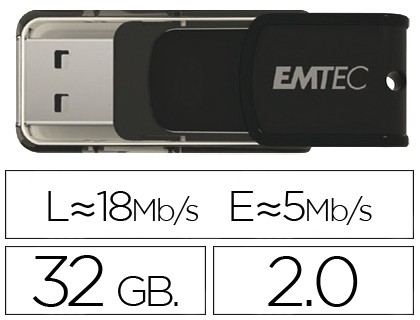 USB MEMORY EMTEC FLASH 32 Hard GB 20 CANDY