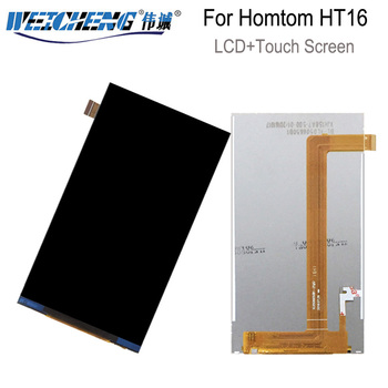 For Homtom HT16 LCD Display Screen Smartphone Accessories For Homtom HT 16 display Replacement for lcd HT16 pro image