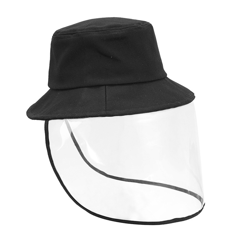 Anti Bacteria Protective Cap Mask Men Women UV Protection Fisherman Sun Hat Outdoor Face Cover