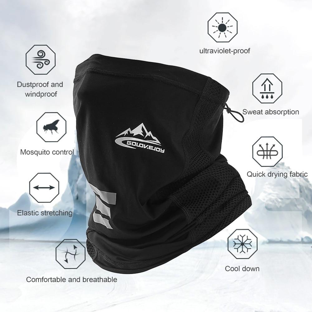 UV zaščita ledeno svileno pokrivalo za obraz vratna cev na prostem - Kampiranje in pohodništvo - Fotografija 2