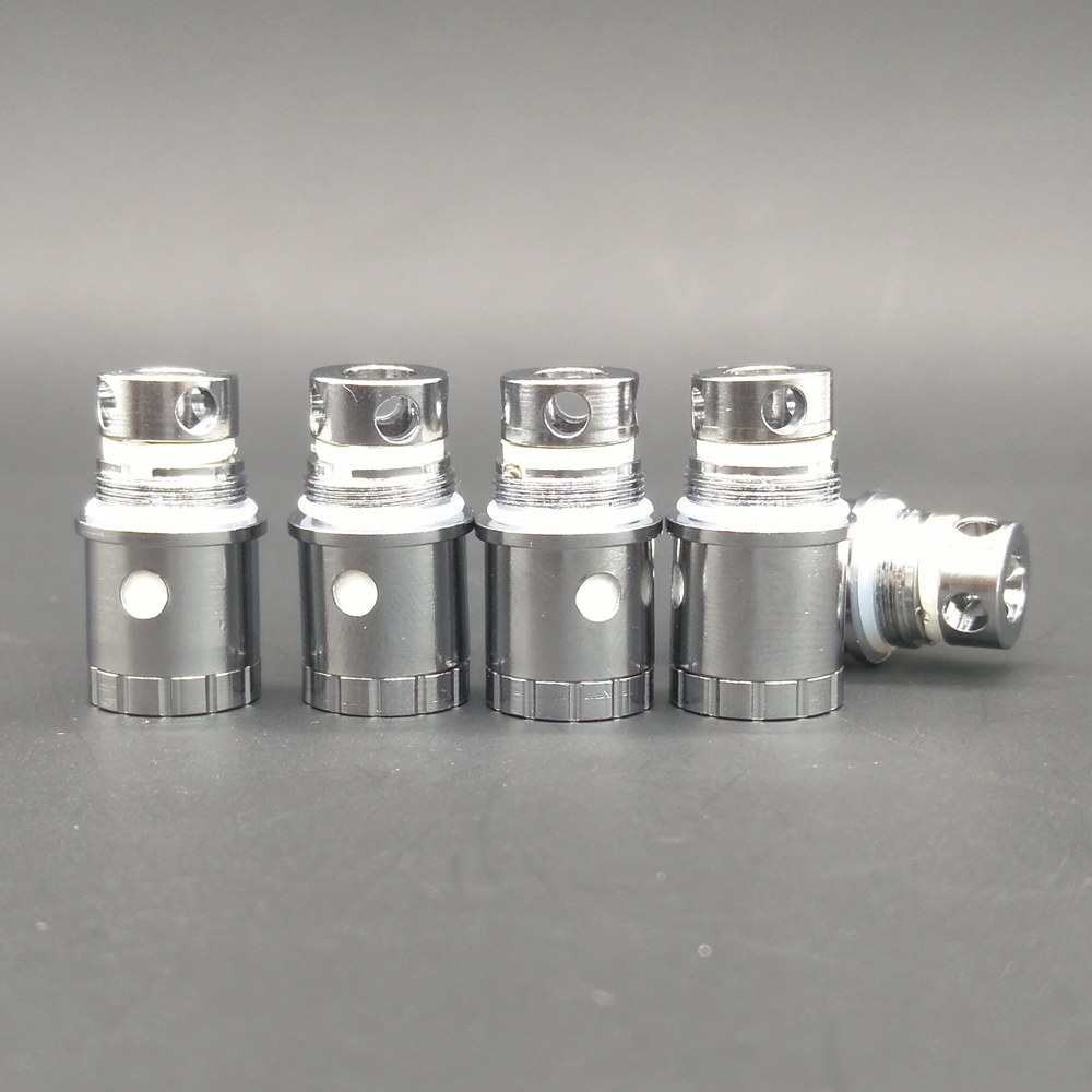 5pcs/pack Hxjvape Original Replacement 0.5ohm Coil Core Head Fit For Jomotech Jomo Lite 40 40s Tank Atomizer Kit Glass Tube