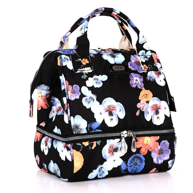 Mom Handbag Nappy Bag  Baby Bags Mummy Backpack  Waterproof Travel Multifunction Stroller  Diaper Bag