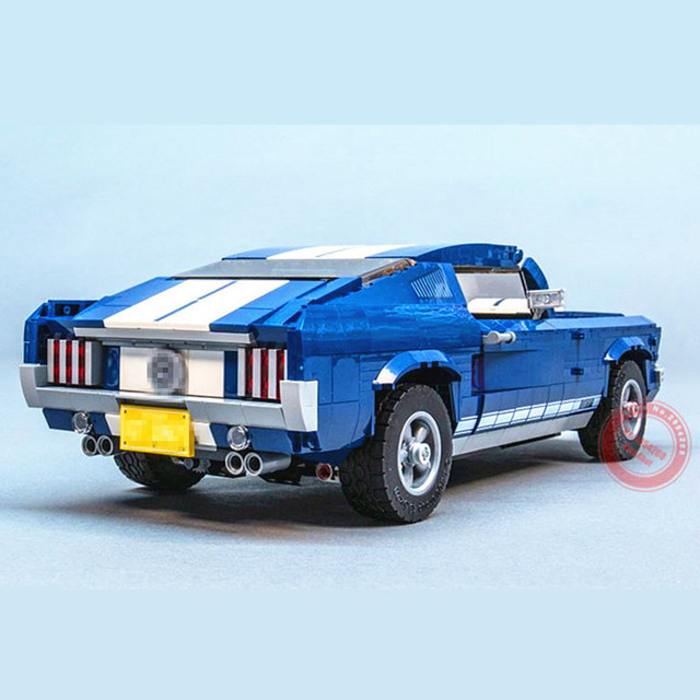 New GT500 1967 Ford Mustang Technic MOTOR POWER FUNCTIONS 8