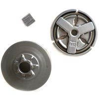 Clutch Drum & Clutch & Needle Bearing Fit for Chinese Chainsaw 4500 5200 5800|Embreagens a pó magnético|Ferramenta -
