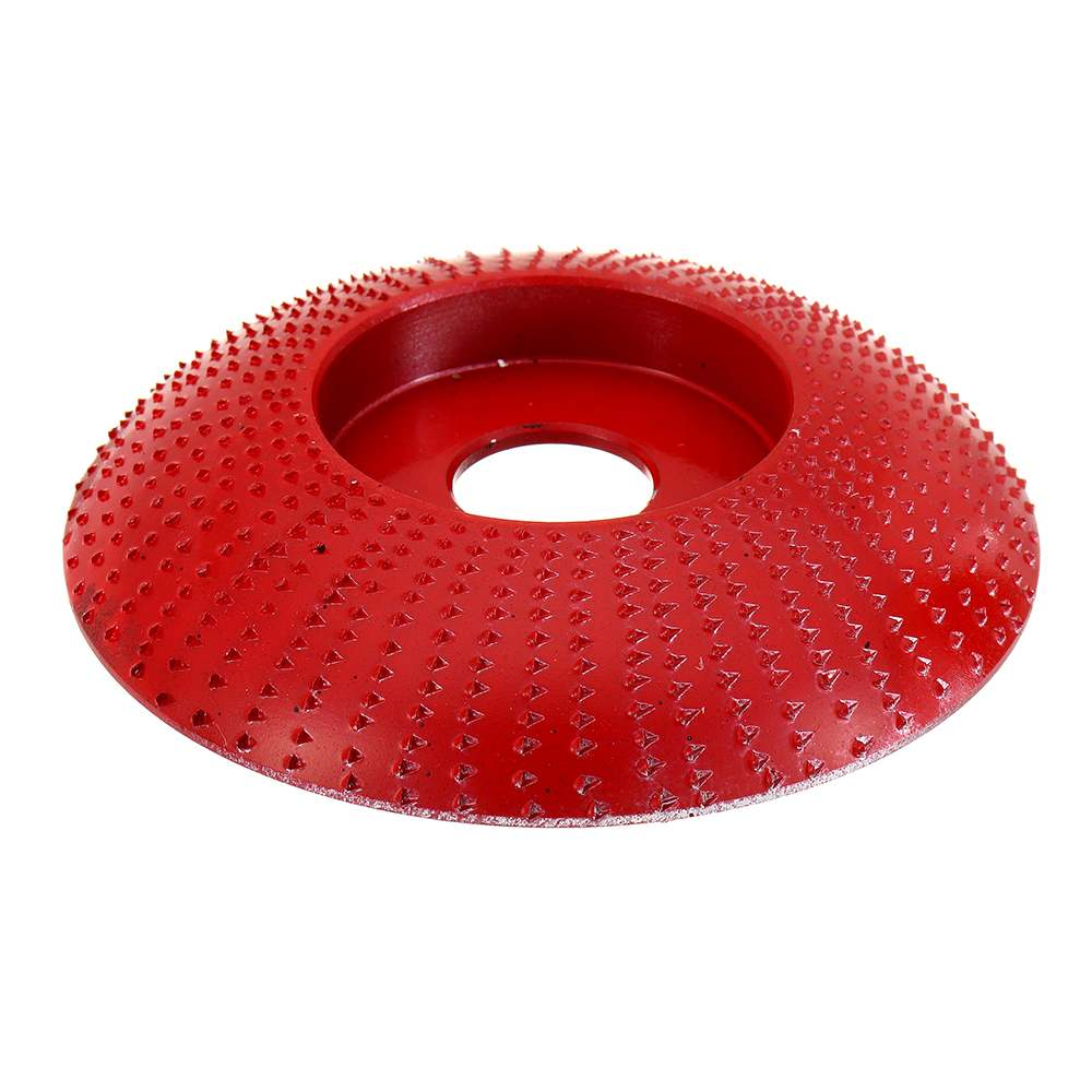 110mm Tungsten Carbide Arc Wood Shaping Disc Carving Disc 22mm Sanding Grinder Wheel Abrasive Tools For 115 125 Angle Grinder