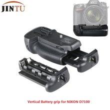 JINTU – bloc d'alimentation avec poignée de batterie, pour appareil photo reflex numérique Nikon D7100 D7200, garantie 1 an