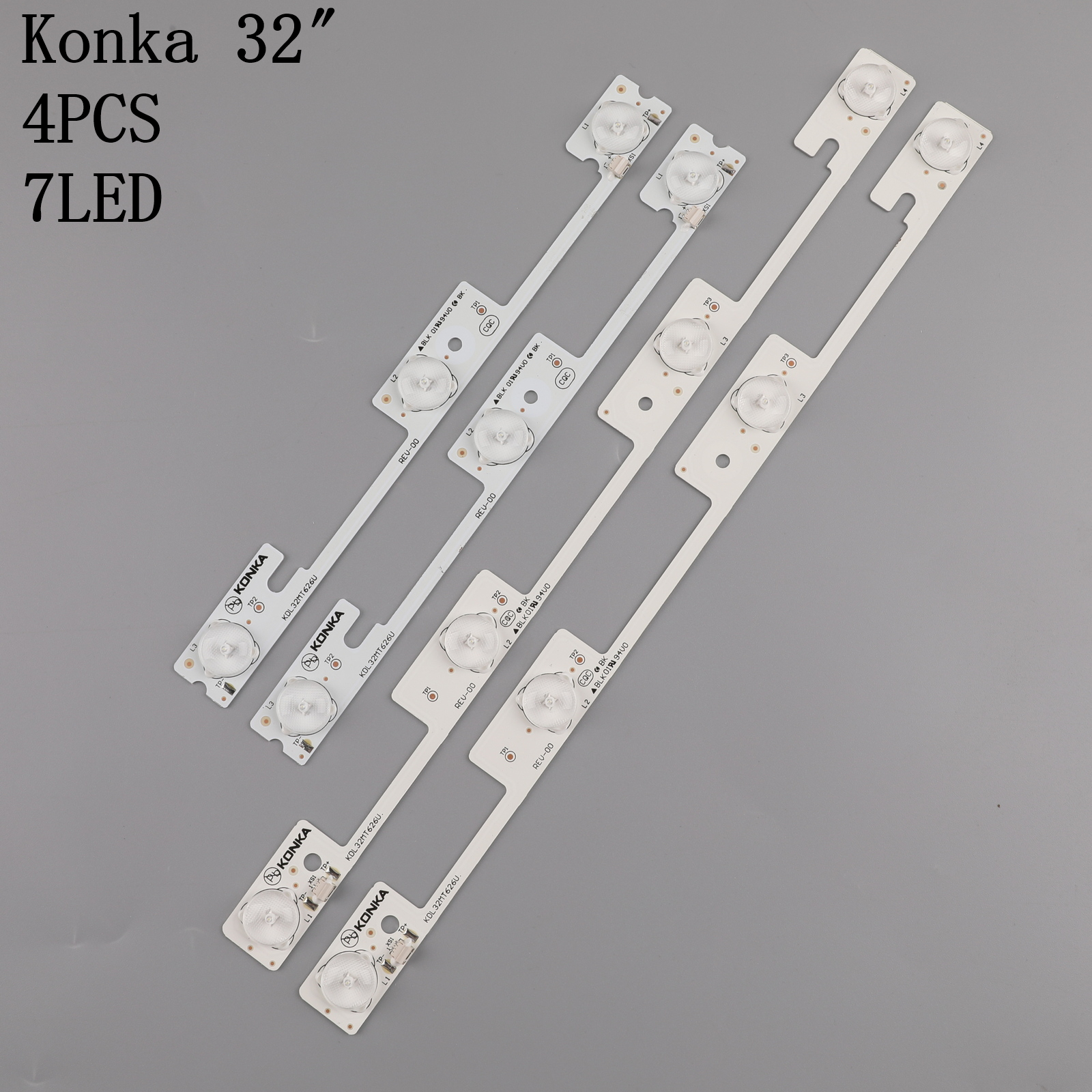 20pcs original for Konka KDL32MT626U 10PCS 4LED amp 10PCS 3LED 35019055 35019056 light bar 32 inch backlight lamp LED strip 6v