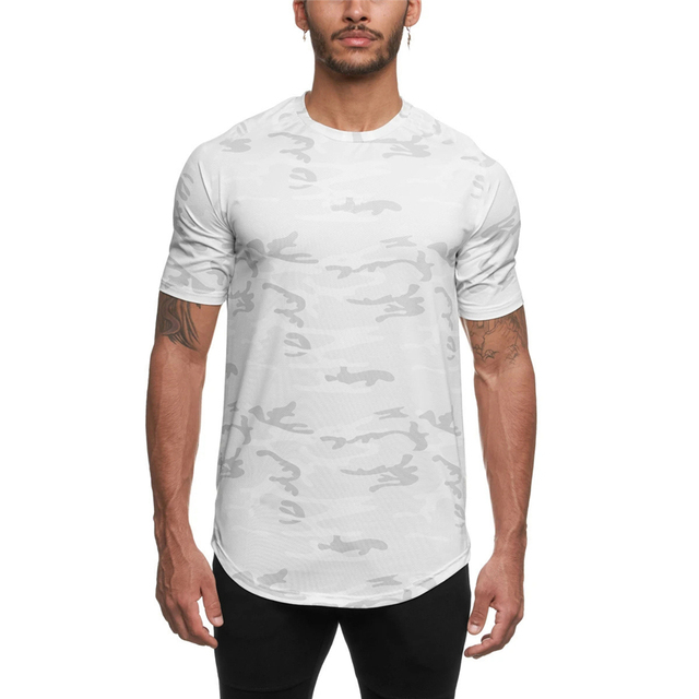 Camo Sport Fitted T-shirt 8