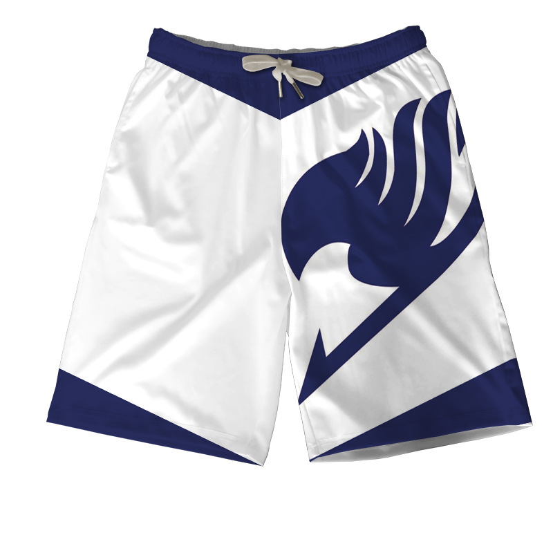 Hot Anime Fairy Tail Related Products Beach Shorts Summer New Style Casual Pants Casual Household Shorts