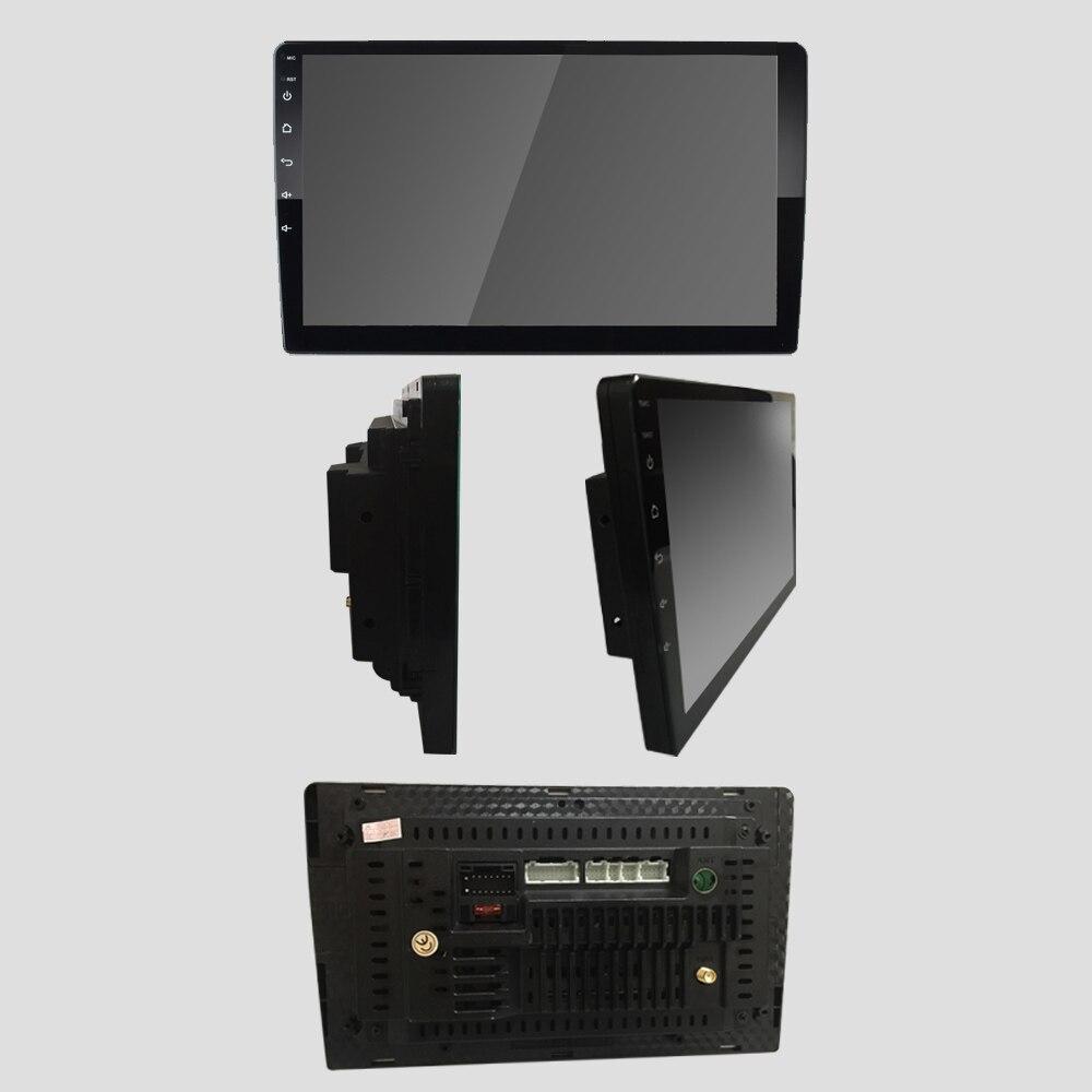 Android 2 Din autoradio Multimedia Video Player GPS Navigation 10.1