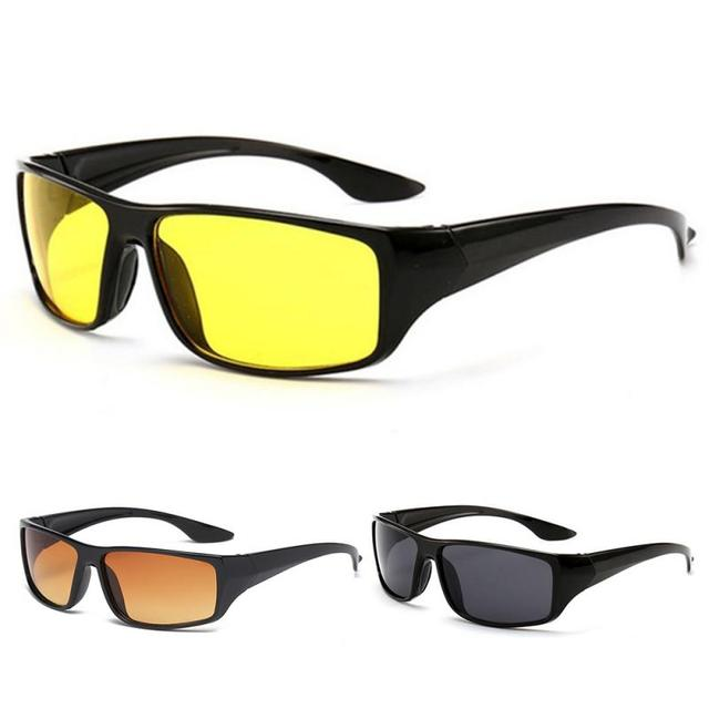 Anti-Glare Night Vision Driver Goggles Night Driving Enhanced Light Glasses Fashion Sunglasses Goggles Car Accessries 6