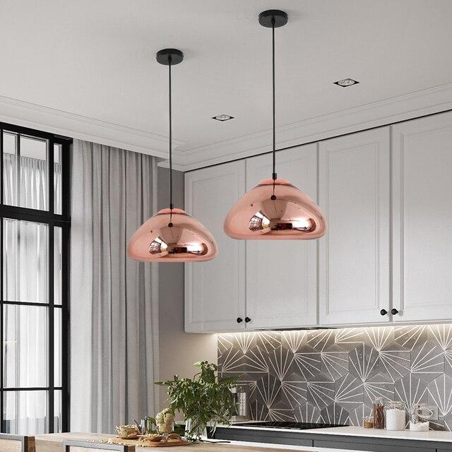 Фото nordic led стеклянные шаровые подвесные светильники современный цена