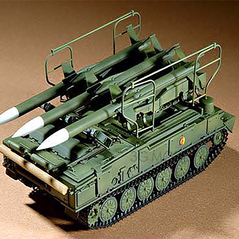 1:35 Antiaircraft Missile Model Kit Assembly Plastic DIY Russian Military <font><b>Trumpeter</b></font> Durable Toys Educational Kid Gift Tank image