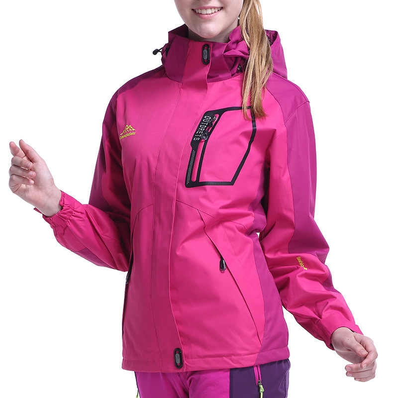 KOPPELS Outdoor Single Layer Regenjas Jas Waterdicht Windjack Bergbeklimmen Soft Case Kleding Dunne Outdoor Sport Doek