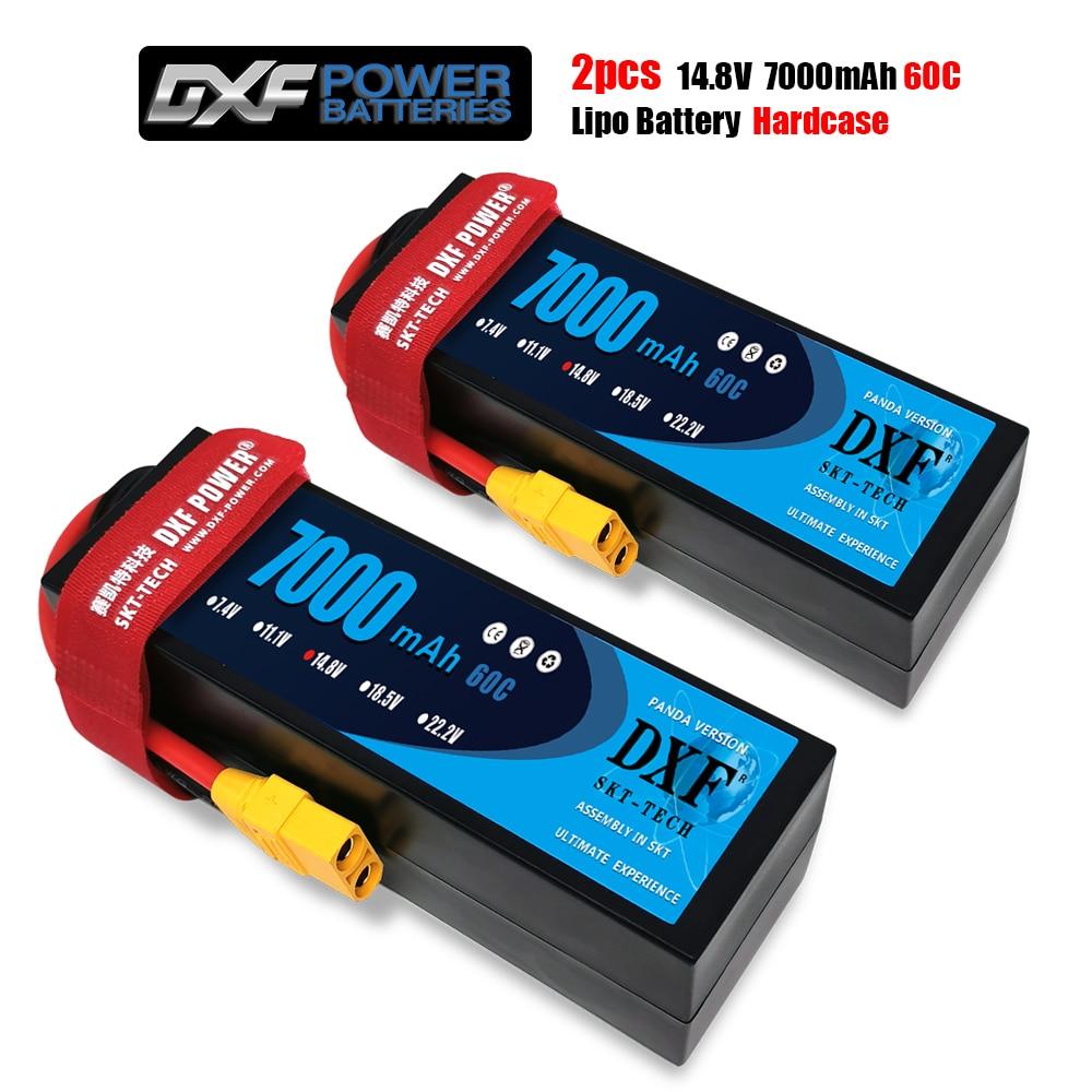 dxf power 7000 mah 6500mah lipo 2 s 4s 7 4 v 14 8 v 60c
