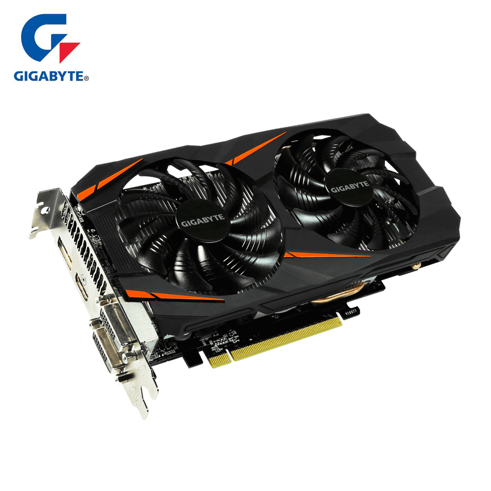 GIGABYTE Graphic Card Gtx 1060 3GB GDDR5 Hdmi VGA Video Card Gaming Pc Used Cards