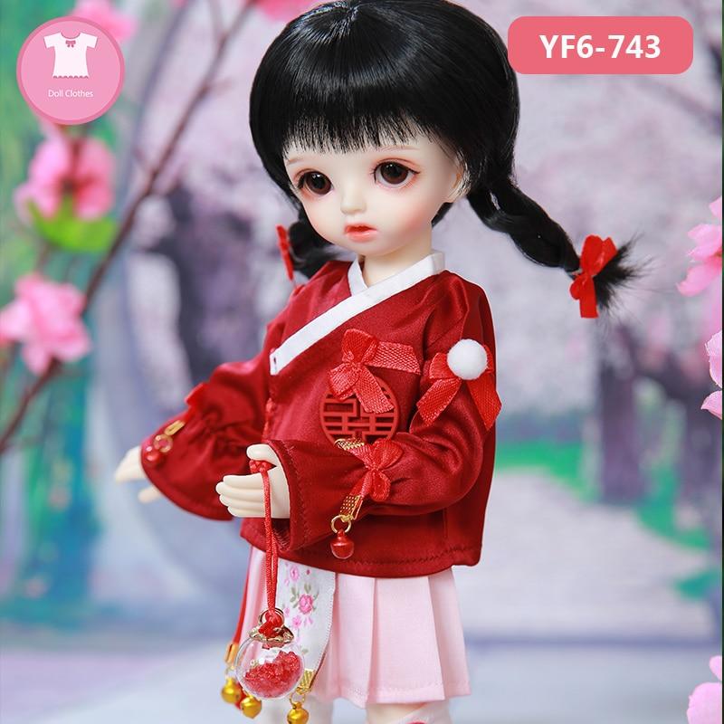 BJD ClothesKimi Linachouchou  Body And DZ Girl Body 1/6 BJD SD Dress Beautiful Doll Outfit Accessories   Luodoll