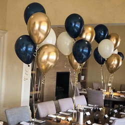 18 pcs/lot 10 inch Dark-blue Latex Balloon  christmas decorations for home  birthday wedding party decorations
