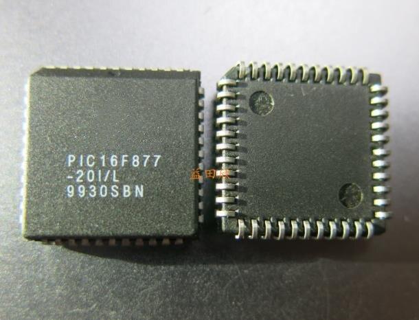 Новый оригинальный телефон PIC16F877-20I/L PLCC44 2 шт./лот