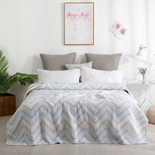 1 Piece set Superior 100% Cotton Washed cotton bedspread  Minimalist style All-Season Premium Bed-cover King Queen78*86