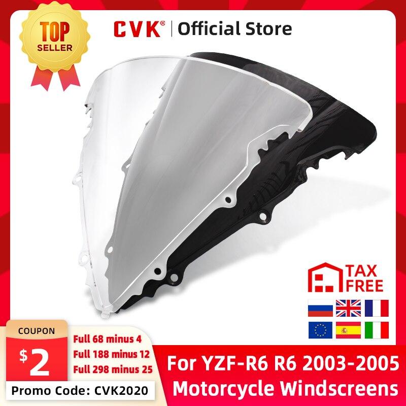 CVK мотоцикл лобовое стекло спойлер ветровое стекло воздуха Ветер Дефлектор для YAMAHA YZF600 R6 2003 2004 2005 YZF-R6 03 04 05 запчасти