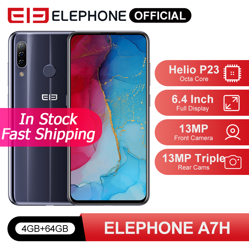 In Stock ELEPHONE A7H Helio P23 4GB 64GB Smartphone 6.4