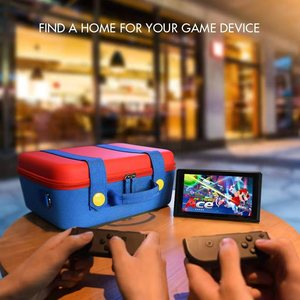 Image 5 - Multi function Carrying Bag for Nintend Switch Console EVA Storage Game Case for Nintendo Switch Pro Joy con Accessories