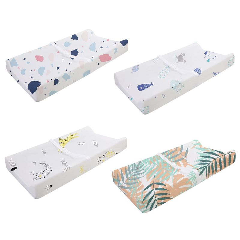 Baby Diaper Changing Pad Cover Infant Soft Reusable Urinal Changing Table Cover Breathable Nappy Changing Pad Mat
