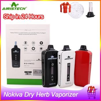 En Stock!! Airistech – Cigarette électronique originale Nokiva pour herbes sèches, Kit avec chambre en céramique, chauffage, 2200mah