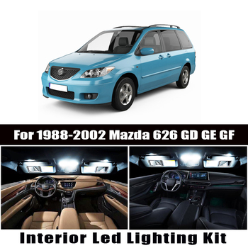 Canbus For Mazda 626 GD GE GF 1988-2001 2002 Vehicle LED Interior Dome Map Light License Plate Light Car Lighting Accessories image