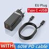 EU Type C USB Black