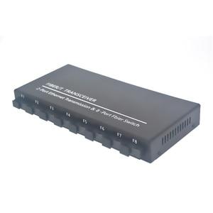 Image 4 - Commutateur à fibres optiques 8 SC 2 1000M RJ45 convertisseur de médias de commutateur Ethernet Gigabit de qualité industrielle 5V3A