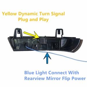 Image 5 - Indicatore di direzione dinamico LED indicatore specchietto retrovisore lampeggiante ripetitore per Volkswagen VW GOLF 5 Jetta MK5 Passat B5.5 B6 EOS