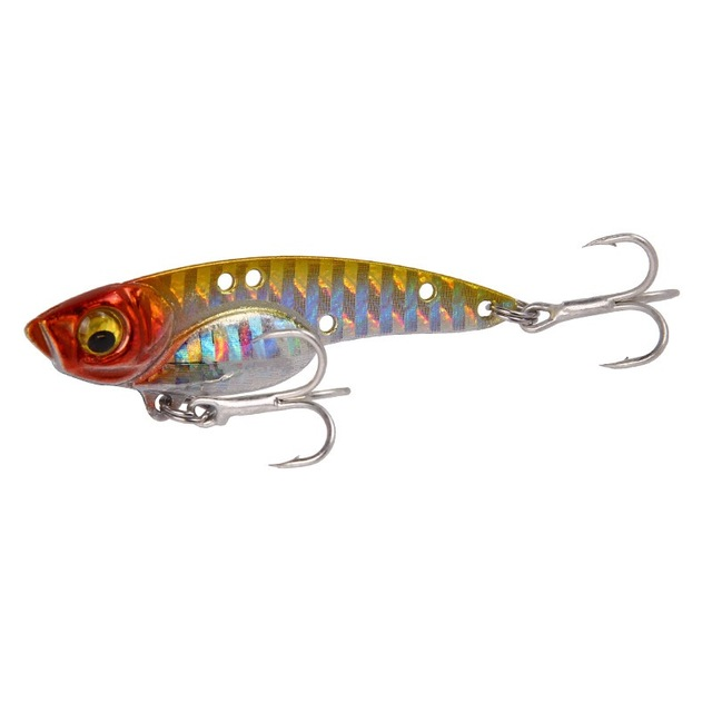 5PCS Lot Metal VIB Blade Fishing Lures Crankbaits Bass Hook Tackle 5cm 11g ju