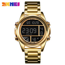 SKMEI Relogio Masculino 1448 Men Digital Watch Chronograph Stopwatch Calendar Sport Watches Male Waterproof Wristwatch Clock(China)