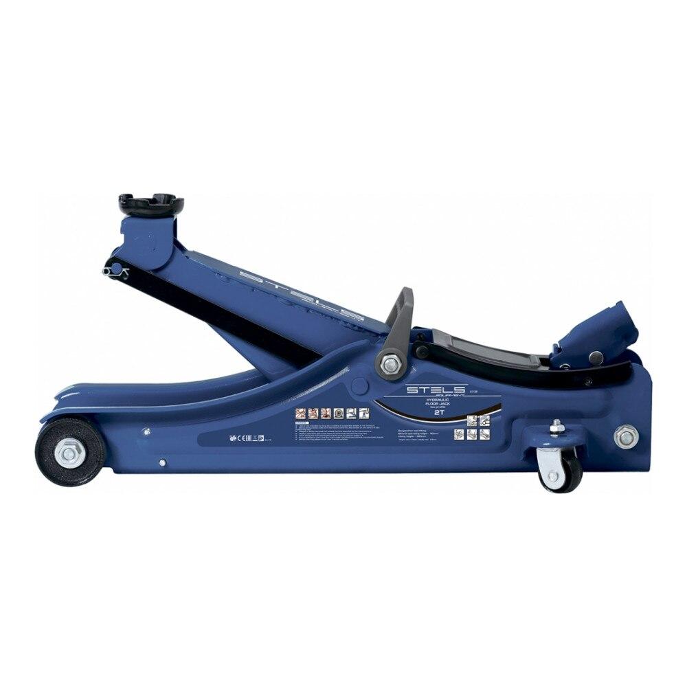 Домкрат подкатной гидравлический Stels 2т 80-380мм Low Profile (51129)