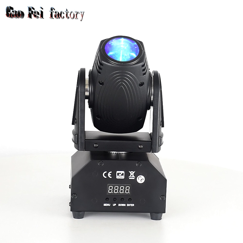 Led Stage Light Moving Head Beam 10W LED Moving Light Quad RGBW DMX Control Stage Lighting For DJ Party Disco