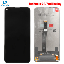 Display For Huawei Honor 20 Pro LCD Display+Touch Screen Digitizer LCD Glass Panel Replacement For Honor 20 LCD Display Screen new lcd display matrix for 7 dns airtab m76r tablet lcd display 1024x600 screen panel module glass replacement free shipping