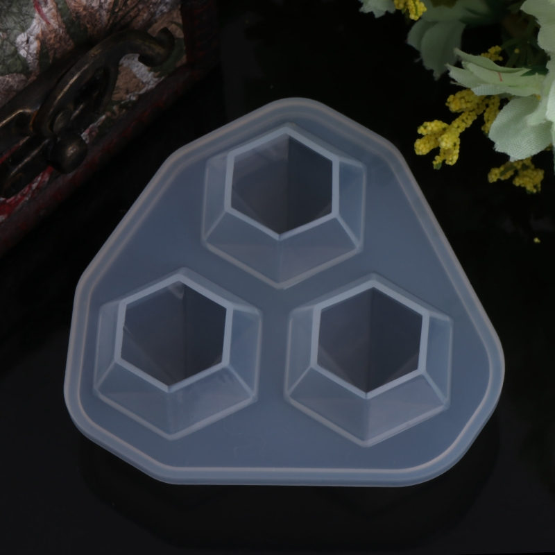 2019 Silicone Molds For Resin Diamond Shaped Jewelry DIY Cake Decoration Dessert Handmade Jewelry Tools