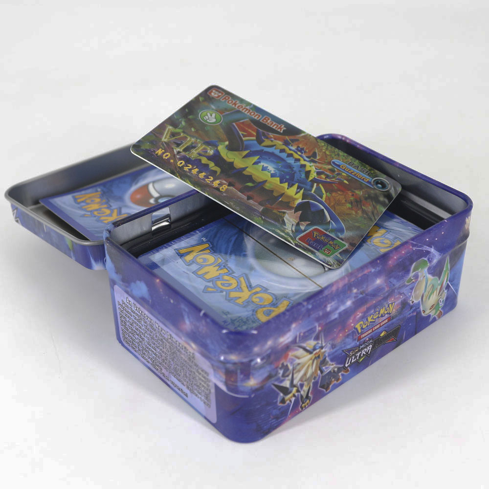 Takara Tomy 42pcs/set Shining Pokemon VIP Cards For Kids Toy Collections Card Metal Boxed Flash Card