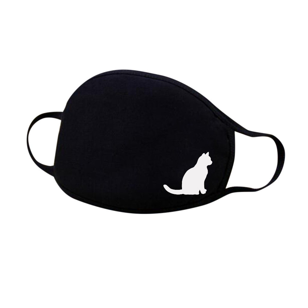 Sophisticated Cat Themed Face Mask
