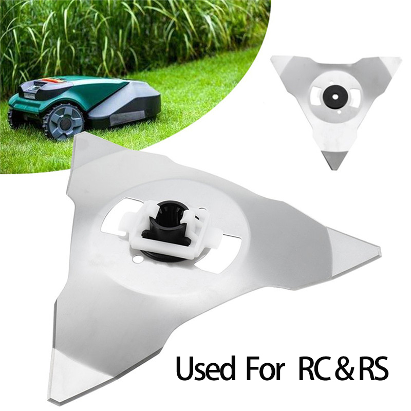 Used For RS RC Mowing Robots Garden Lawn Mower Parts Cutter Blade Trimmer Garden Grass Trimmer Accessories Replacement Blades