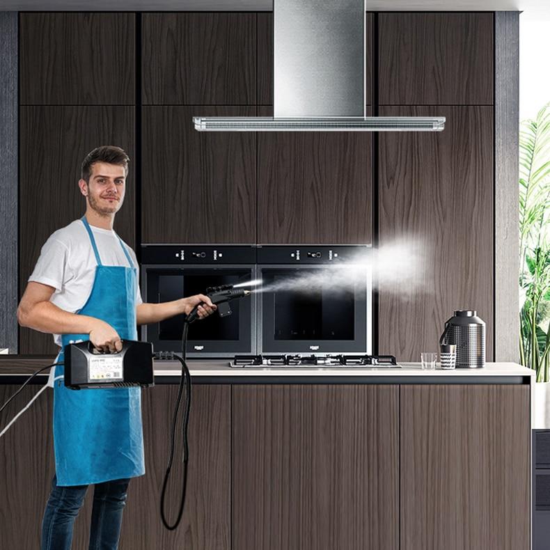 Steam Cleaner Kitchen Disinfection High Temperature Steam Cleaner for Air conditioner Hood Sterilization Anti- Coronavirus 110V 5